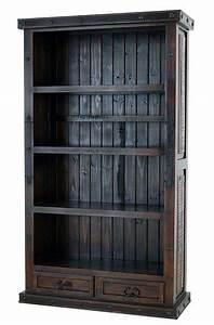 Rustic, Bookcase, Drawer, Rustic, Bookcase, Rustic, Pine, Bookcase