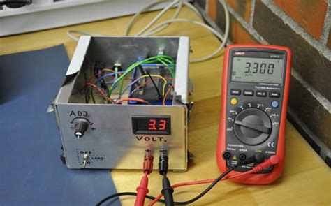 Simple Adjustable Power Supply Projects