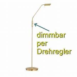 Led Stehlampe Messing Dimmbar : led stehleuchte messing inklusive dimmer ~ Bigdaddyawards.com Haus und Dekorationen