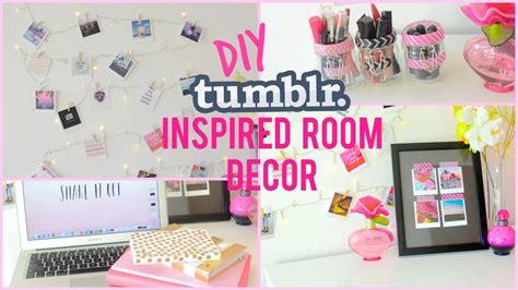 Bedroom Ideas For Teenage Girls - diy room decor tumblr inspired i dizzybrunette3 youtube