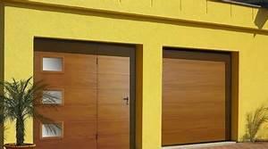 Prix Porte De Garage Basculante : prix d 39 une porte de garage avec portillon co t moyen ~ Edinachiropracticcenter.com Idées de Décoration