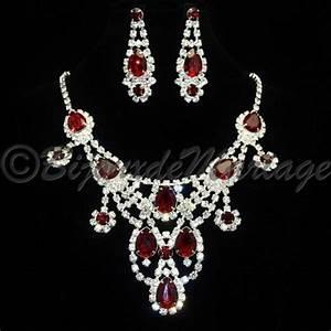 parure bijoux mariage rouge With parure de mariage or