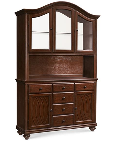 Macys Bradford China Cabinet by Crestwood 2 China Cabinet Furniture Macy S