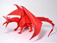 Origami Ancient Dragon Diagram. Origami. Wiring Diagram And Schematic ...