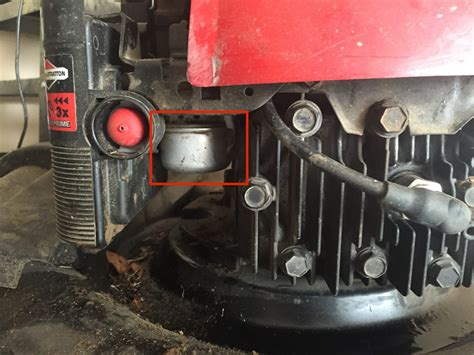 Push Mower Fuel Filter by Repair What Is This Part Between The Fuel Line And