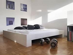 Designer Bett 200x200 : bett somnium minimalistisches design bett von rechteck ~ Indierocktalk.com Haus und Dekorationen