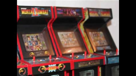 mortal kombat mini arcade machines youtube