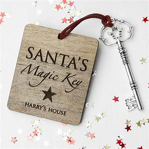 personalised santa39s magic key by letteroom With letter from santa with magic key