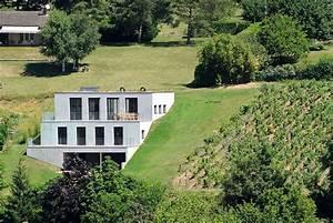 Maison Semi Enterrée : maison enterr e architecte lm16 jornalagora ~ Voncanada.com Idées de Décoration