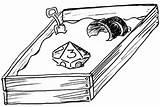Sandbox Drawing Getdrawings sketch template
