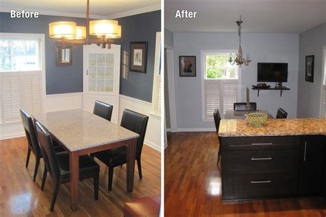 kitchen and dining room combination makeovers 98 combining kitchen and dining room remodel linnea 9038