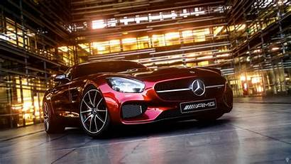 Mercedes Benz Amg Wallpapers Cars Coupe Reflection