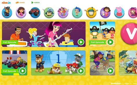 nick jr site gets a redesign debuts new preschool series 951 | home ffbos desktop