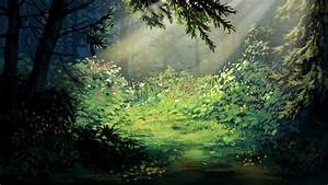 Tumblr Backgrounds Forest Digital Paintings Background ...