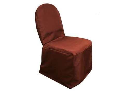 brown polyester banquet chair cover tradesy weddings