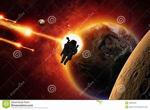 Mission to Mars stock image. Image of exploration, glowing ...