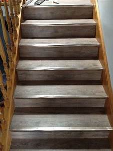 Direct floor coverings rustic grey 5mm waterproof vinyl for How to install vinyl plank flooring on stairs