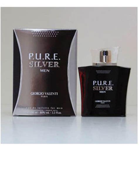 pure silver cologne  giorgio valenti  perfume
