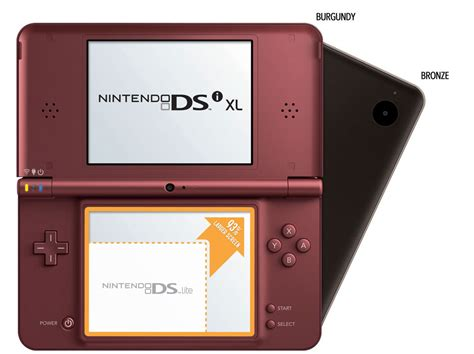 Nintendo Dsi Xl Comparison