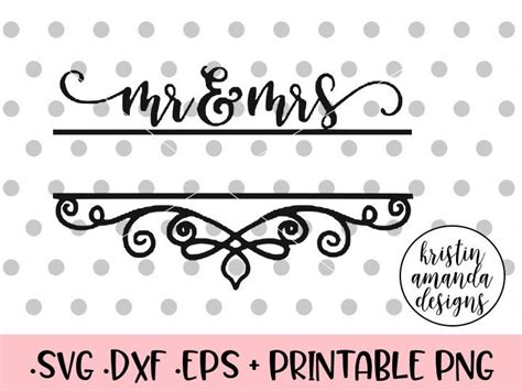 These free unicorn svg cut files and graphics will be an amazing addition to your cutting files and craft my little one loves putting in requests for designs and this unicorn trainer svg collection is one of her another popular collection of free svg files for cricut and silhouette machines is our free. Mr. and Mrs. Editable Wedding Name Sign SVG DXF EPS PNG ...