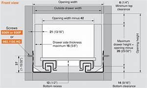 Blum Tandem 569a Drawer Slides (blum569a) DrawerSlides com