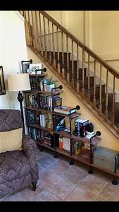 Utilizing, Space, In, Entryway, Along, Staircase, With, Images