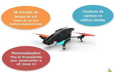 parrot ar drone  special power edition pfag reparation drone grosbill