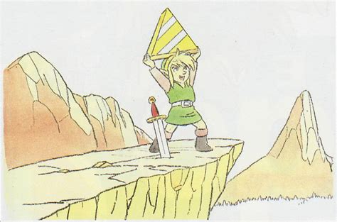 All The Concept Art From Hyrule Historia Zelda Universe