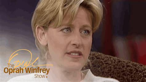 Ellen DeGeneres Oprah Winfrey Show Coming Out