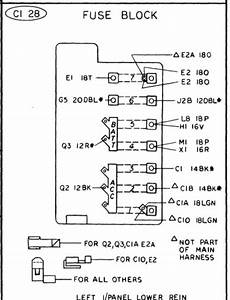 72 Demon Fuse Block With 7 Fuses  Wiring Schematic Shows 6