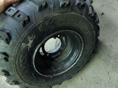 Kawasaki Bayou 250 Tires by 2006 Kawasaki Klf250a Bayou Rear Right Wheel With Tire