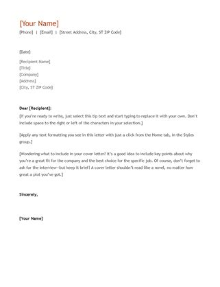 Proper Way To Start A Cover Letter by Resume And Cover Letter Chronological