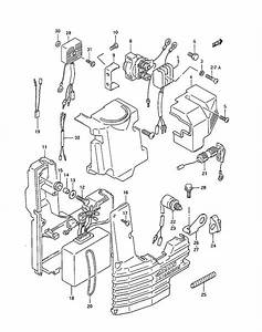 Fig  15 - Electrical - Suzuki Dt 30c Parts Listings