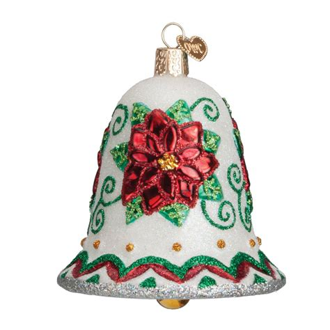 poinsettia bell ornament traditions poinsettia bell ornament traditions
