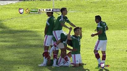 Celebration Mexican Goal Team Bicycle Mexico Soccer