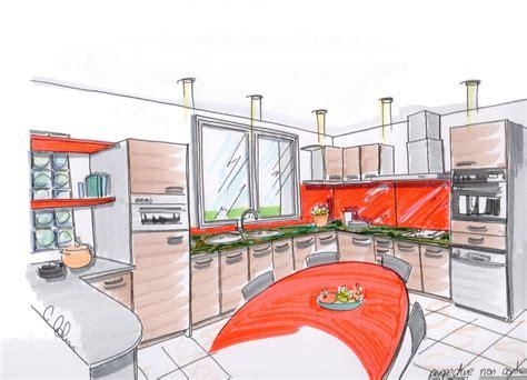 cuisine en perspective etudes cuisines 2c créations