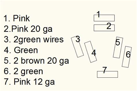 Color Wiring Diagram Finished The 1947 Present Chevrolet Gmc by Color Wiring Diagram Finished Page 7 The 1947