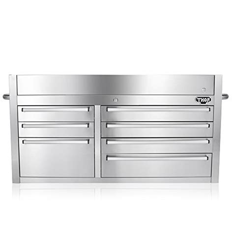 THOR KITCHEN 41 Inch Stainless Steel Tool Chests 7 Drawers