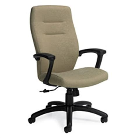 global synopsis high back tilter office chair in day