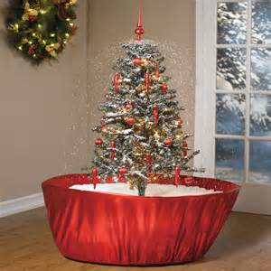Fully Decorated Christmas Trees by 5 Snowing Pre Lit Decorated Christmas Tree W 25 Holiday