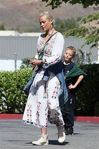 Exercise Or Diet Paula Patton Took Her Son Julian Fuego Thicke Grocery