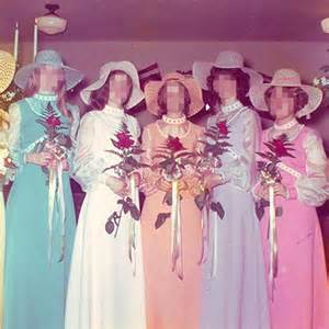 bad bridesmaid dresses top 10 ugliest bridesmaid dresses 8 the rainbow connection