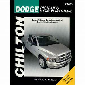 Chilton Repair Manual New Ram Truck Dodge 1500 2500 3500