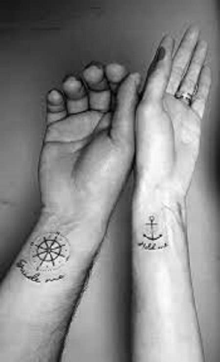 109 Best Matching Couple Tattoos | Improb
