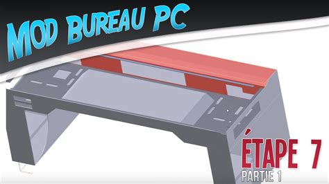 bureau pc intégré mod bureau pc é 7 phase design conception terminée