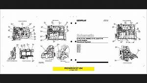 Diagrama De Motor Caterpillar C-15 Y Mas