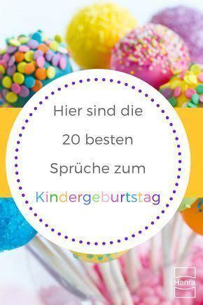 kindergeburtstag lustige sprueche hanra grusskartenblog