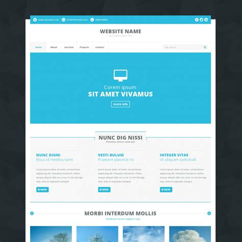 Free Html Templates 170 Free Html Templates Linesh