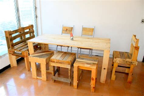 emejing fabriquer une table de beautiful table et chaise de jardin en palette photos