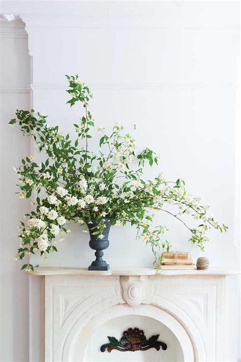 branch arrangements  spring pinterest mock orange